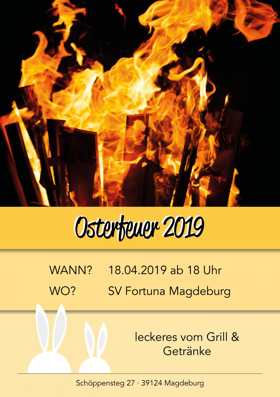 Osterfeuer Magdeburg 2021